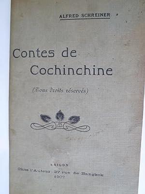 Contes de Cochinchine: SCHREINER (Alfred)