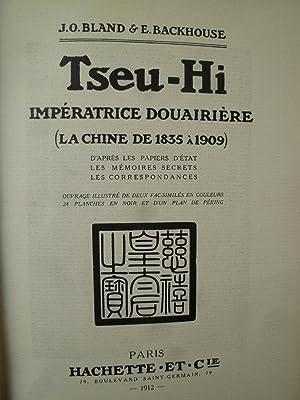 Tseu-Hi, Impératrice Douairière (La Chine de 1835 à 1909) d'après ...