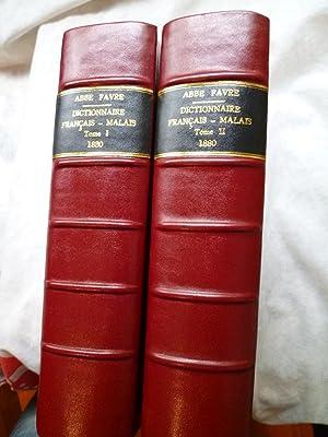 Dictionnaire Français-Malais: FAVRE (Abbé P.)