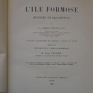 L'Ile Formose - Histoire et Description: IMBAULT-HUART (Camille)