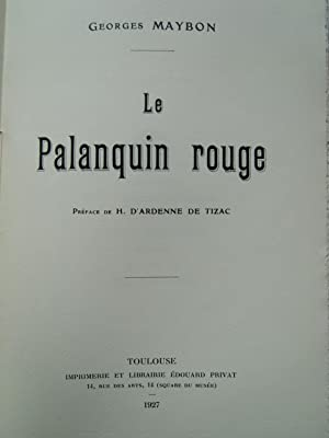Le Palanquin rouge: MAYBON (Georges)