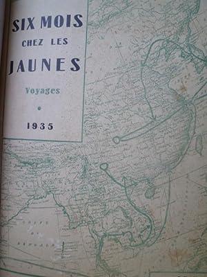 Six Mois chez les Jaunes - Voyages: DUVAL (Henri)