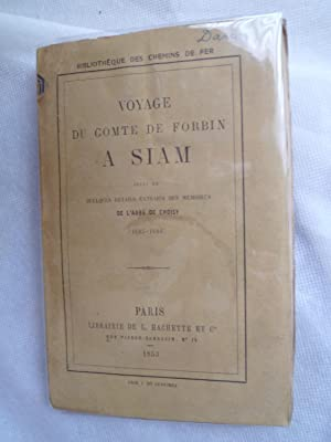 Voyage du Comte de Forbin à Siam, suivi de quelques détails des Mémoires de l&...