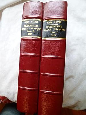 Dictionnaire Malais-Français: FAVRE (Abbé P.)