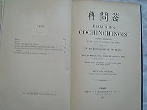 Dialogues Cochinchinois: DES MICHELS (Abel)