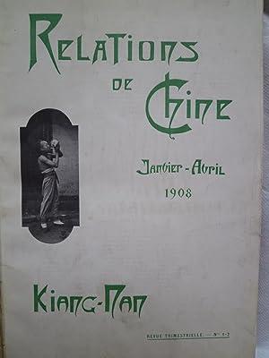 Kiang-Nan - Relations de Chine (1908-1910-1911-1913-1914-1917-1920): [COLLECTIF] [MISSION DU ...