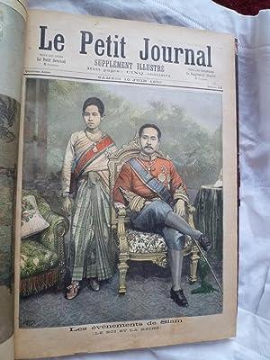 Le Petit Journal (Année 1893): [SIAM] - [PETIT JOURNAL]