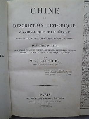 Chine Moderne ou Description Historique, Géographique ou Littéraire de ce vaste ...