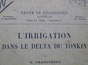 L'Irrigation dans le Delta du Tonkin: CHASSIGNEUX (E.)