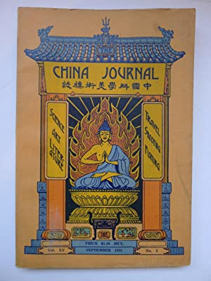 The China Journal: [THE CHINA JOURNAL] ARTHUR DE SOWERBY