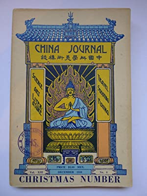 The China Journal Christmas Number: [THE CHINA JOURNAL] ARTHUR DE SOWERBY