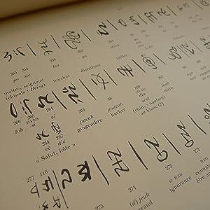 Ecritures des Peuples non Chinois - Quatre Dictionnaires des Peuples non Chinois de la Chine - ...