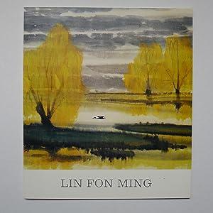 Lin Fon Ming (Lin Fong-Mien), Peintre Chinois Contemporain: MUSEE CERNUSCHI]