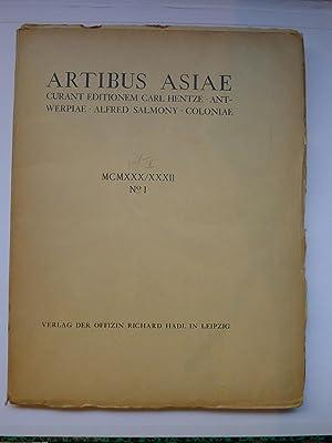 Artibus Asiae - MCMXXX/XXXII - No. I: [ARTIBUS ASIAE]