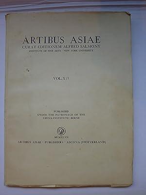 Artibus Asiae - MCMXLVII - Vol. X/1: ARTIBUS ASIAE]