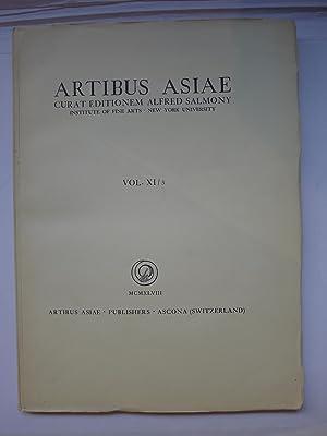 Artibus Asiae - MCMXLVIII - Vol. XI/3: ARTIBUS ASIAE]