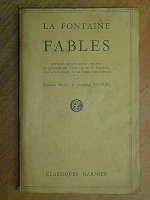 Fables. Nouvelle edition revue avec soin et: La Fontaine.