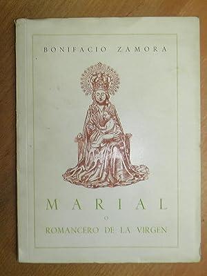 Marial o Romancero de la Virgen.: Zamora, Bonifacio.