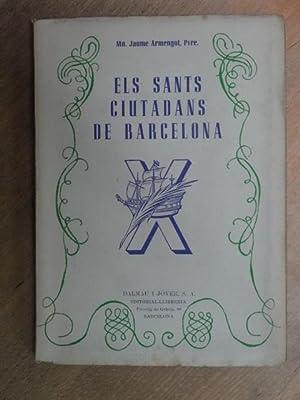 Els sants ciutadans de Barcelona.: Armengol, Mn. Jaume.