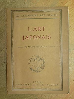 L'Art Japonais. Ouvrage orné de 30 figures: Martin, Henry.