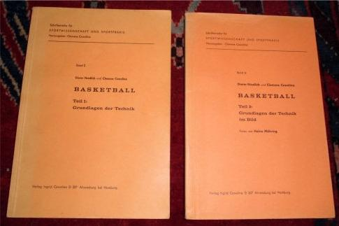 Basketball. 2 Bände. Teil 1 : Grundlagen: Dieter Niedlich Und