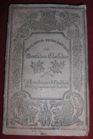 Miniatur-Bibliothek Der Deutschen Classiker. Gedichte von Albrecht: Albrecht v. Haller