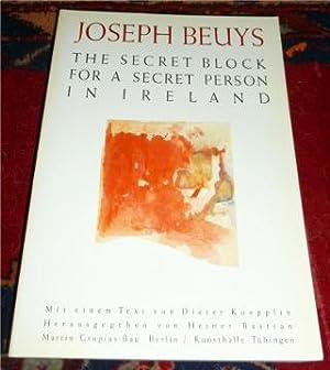 Joseph Beuys - Zeichnungen. The secret block: Herausgeber Heiner Bastian,