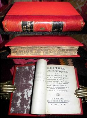 Lettres cabalistiques ou correspondance philosophique, historique et: Anonyme (J. B.