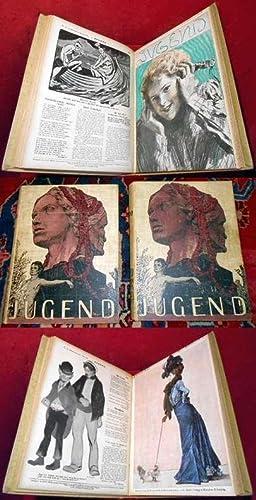 Jugend - Münchner illustrierte Wochenschrift für Kunst: Herausgeber Georg Hirth,