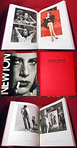 Helmut Newton Portraits. Photographies prises en Europe et en Amerique.