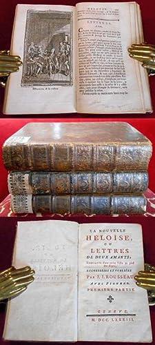 La Nouvelle Heloise Ou Lettres De Deux: J.J. Rousseau