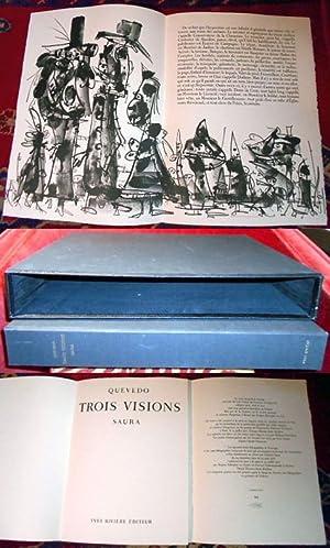 Francisco De Quevedo. Trois Visions.: Antonio Saura
