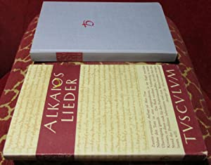 Lieder. Griechisch und Deutsch.: Alkaios, herausgegeben von