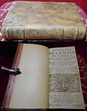 Conduite de Saint Ignace de Loyola, menant: Antoine Vatier