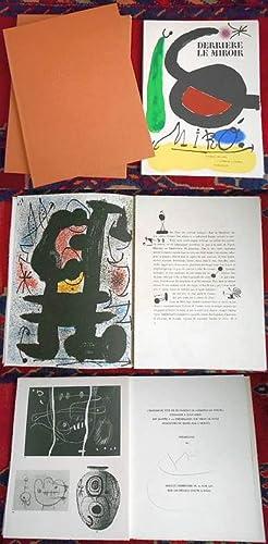 Derrière Le Miroir MIRÓ L'oiseau solaire, l'oiseau: Joan Miró, Vorwort