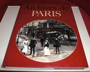 Archives De Paris.: Jacques Borgé et