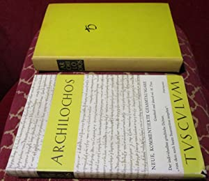 Archilochos ,Text Griechisch und Deutsch: Archilochos, Herausgegeben Von
