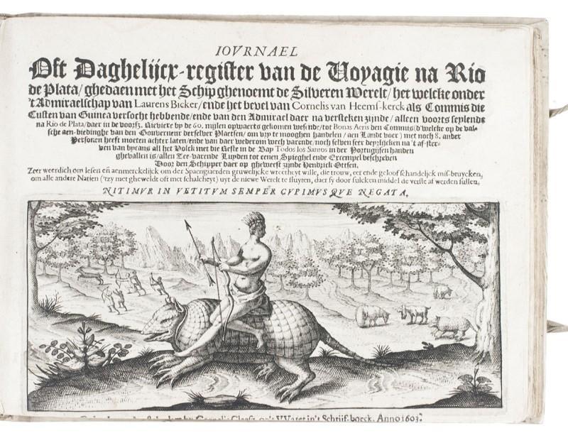 Journael oft daghelijcx-register van de voyagie na: OTTSEN, Hendrick.