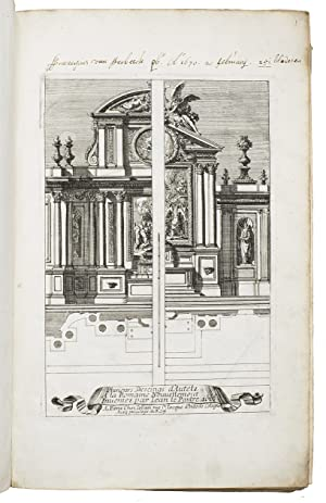 Extensive overview of the architectural and ornamental: LE PAUTRE (POUTRE),