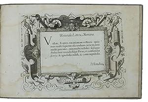 Theatrum artis scribendi, varia summorum nostri seculi,: HONDIUS, Jodocus.