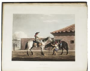 Picturesque illustrations of Buenos Ayres and Monte: VIDAL, Emeric Essex.