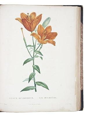 La botanique. Paris, Baudouin brothers, 1822. Large: ROUSSEAU, Jean Jacques