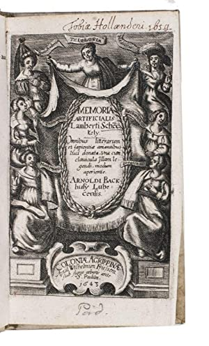 Memoria artificialis . Omnibus litterarum et sapientiae: SCHENCKEL, Lambert [and
