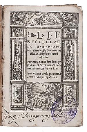 Elucidarius poeticus co[n]tinens historias poeticas, fabulas, insulas: TORRENTINUS, Hermannus (Herman