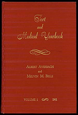 Tort and Medical Yearbook Volume 1