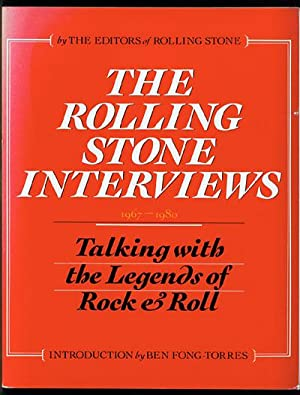 The Rolling Stone Interviews: Talking With the: Herbst, Peter [editor]