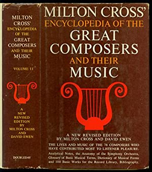Milton Cross' Encyclopedia of the Great Composers: Cross, Milton and
