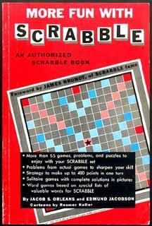 MORE FUN WITH SCRABBLE: An Authorized Scrabble: Orleans, Jacob S.