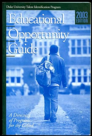 Educational Opportunity Guide 2003 Edition