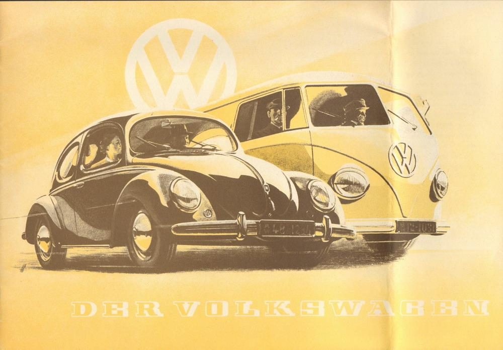 Der Volkswagen. Faksimile.